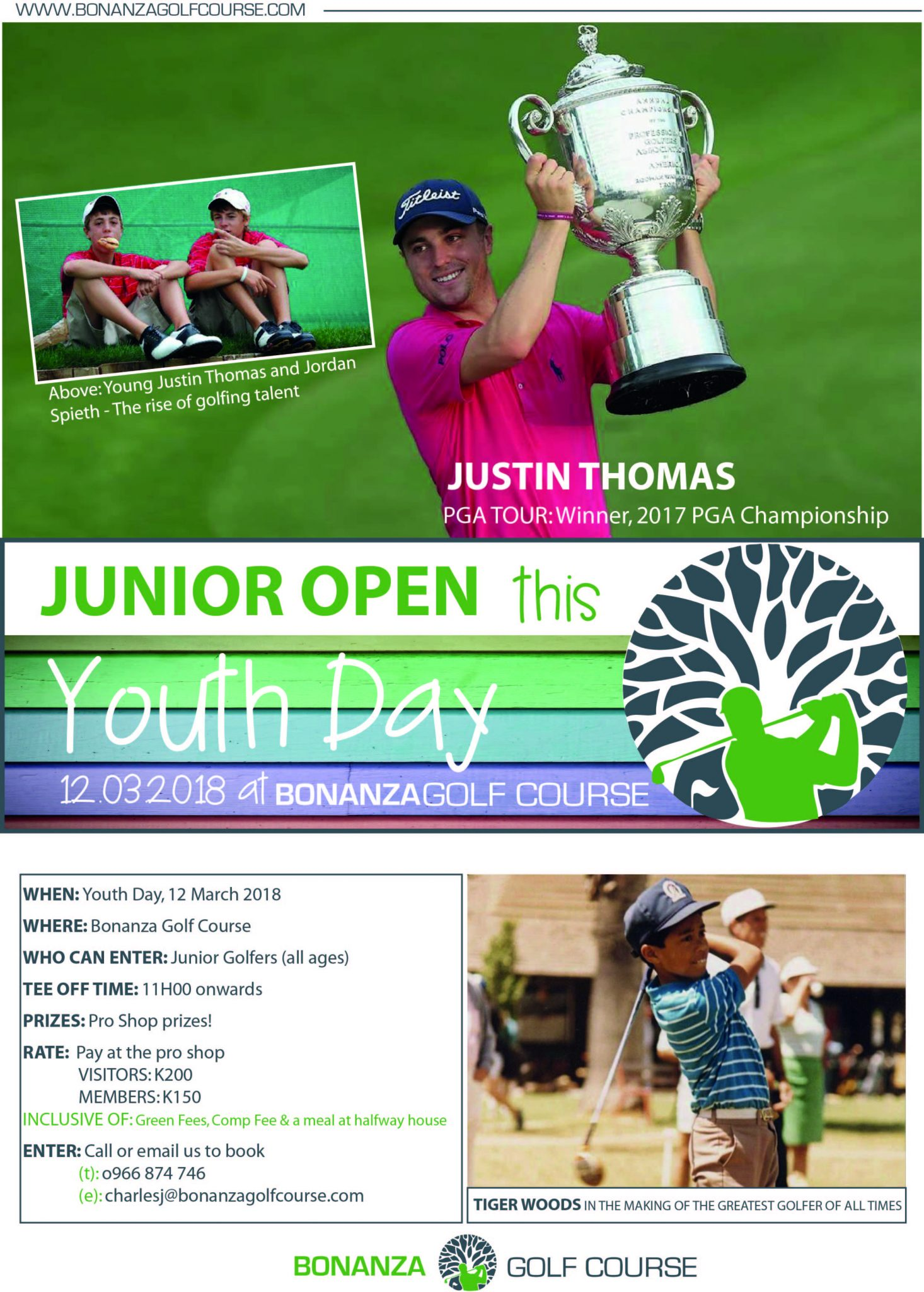 junior open, youth day